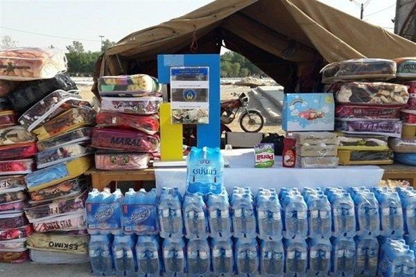 نشانی ۲۰ مکان جمع آوری کمک های مردمی برای سیل زدگان