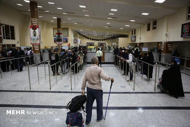 ارائه خدمات زیرساختی شهرداری منطقه ۴ تهران در پایانه مرزی چذابه