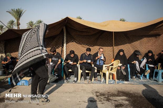 تقدیر نمایندگان جمهوری اسلامی از ۶۰۰ موکب دار عراقی