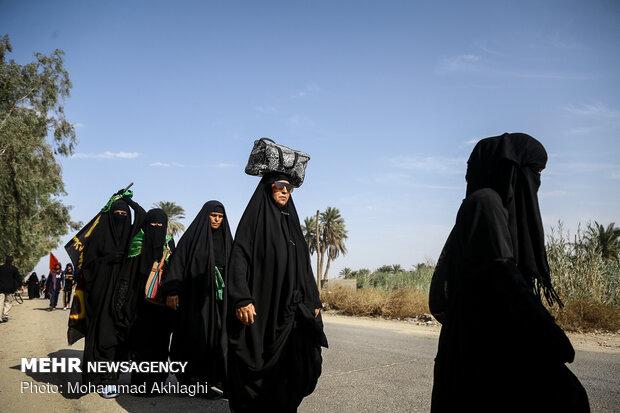 اعزام بیش از یکصد نفر از مبلغین خواهر به مراسم اربعین امسال