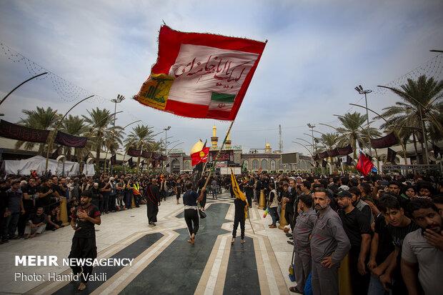 تقدیر فرماندار کربلا از نظم زائران ایرانی