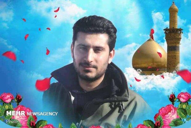 قیام مردم شهرری در تشییع همرزم شهید سلیمانی